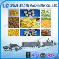 Wholesale Puffed snack food processing machine Core Filling Pillow Machine extruder from china suppliers