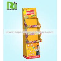 Wholesale Cookies Pop Cardboard Displays / Recycled Outdoor Display Stands Fashionable from china suppliers