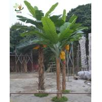 Wholesale UVG BTR047 indoor large artificial plants with faux banana tree for garden landscaping from china suppliers