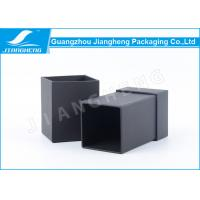 Wholesale Fashion Perfume Packaging Boxes Black Coated Paper Bottle Gift Boxes CB049 from china suppliers