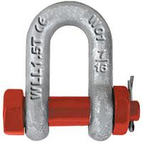 Wholesale US TYPE HIGH TENSILE FORGED SHACKLE G2150 from china suppliers