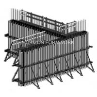 Wholesale Wooden girder wall form work, vertical formwork system, high efficiency shuttering from china suppliers
