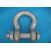 Wholesale High Strength Forged Shackle Used for Tract Wire Rope and Other Tools in Construction from china suppliers