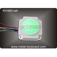 Wholesale Backlit Resin Mechanical Medical Industrial Trackball Mouse , 50mm Trackball Module from china suppliers