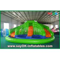 Wholesale Giant Inflatable Bouncer Slide for Poor , Adult Kids Frog Bouncy castle from china suppliers