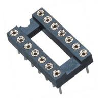 Wholesale 2.54mm IC Socket DIP H=3.0,L=7.43 Row of Pitch 7.62  WCON Connector Card connector from china suppliers