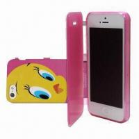 Wholesale TPU Folio Lagging Leather Case for iPhone 5 from china suppliers