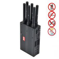 Wholesale 6 Antenna High Power Portable Cell Phone Signal Jammer Blocking GSM 3G 4G LTE WIMAX GPS from china suppliers