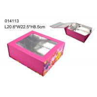 Wholesale Clear Window Presentation Custom Design Packaging Boxes CMYK Color from china suppliers