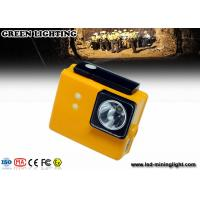 Wholesale PC 6.4ah 3.7v Battery Cree Led Mining Light , Miners Lights For Hard Hats from china suppliers