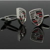 Quality wholesale PORSCHE Logo cuff link for sale