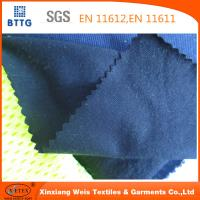 Wholesale EN11612 Ysetex 100% cotton 220gsm flame retardant interlock knitted fabric from china suppliers