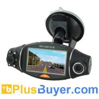 Wholesale 2.7 inch Display Car DVR with Dual Camera & Night Vision from china suppliers