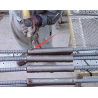 Quality High Strength Concrete Grouted Rebar Splice Coupler , CT / CTH Pipe Sleeve Coupling for sale