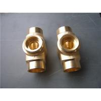 Wholesale Lost wax investment casting process copper tube joint normal polish from china suppliers