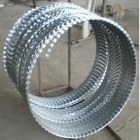 Wholesale hot galvanized concertina wire  razor barbed wire from china suppliers