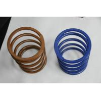 Buy cheap Brown / blue Stainless Steel Miniature Extension Spring ISO/TS16949:2009 from wholesalers
