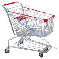 Wholesale American  Shopping Cart 150L Steel Wire ,Baby Seat And Wheels from china suppliers