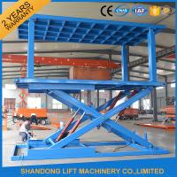 Wholesale 6T 3M Hydraulic Portable Car Lift Double Deck Car Parking System With CE from china suppliers