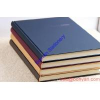 Wholesale pu leather hardcover notebook customized logo,hardcover diary,leather notebook from china suppliers