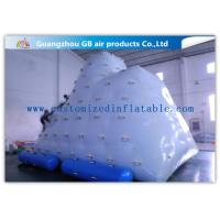 Wholesale Berg Inflatable Water Game White Inflatable Air Climbing Playing On Water from china suppliers