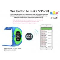 Quality Best selling Kids GPS tracking smart watch with patent_GW001 for sale
