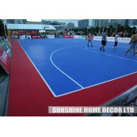 Wholesale Polypropylene Anti Slip Tennis Court Flooring / Removable Basketball Sports Court Surface from china suppliers