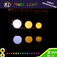 Wholesale RGB Color Changing Waterproof Plastic LED Floating Ball from china suppliers