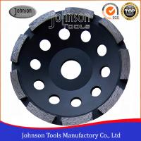 Wholesale 5 Diamond Grinding Wheels For Stone Grinding , Single Row Cup Wheel , Wet Grinding from china suppliers