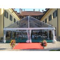 Wholesale Transparent Sidewall Romantic Large Wedding Tents Aluminum Alloy Structure Marquee from china suppliers