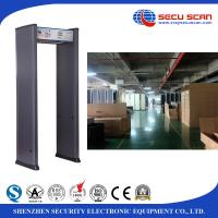 Wholesale Factory use electronic Walk Through Metal Detector door , Human Body Scanner from china suppliers