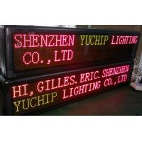 Wholesale Programmable Electronic LED Scrolling Message Board / Led Scrolling Message Sign from china suppliers