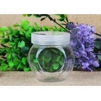 Wholesale Special Style Clear Plastic Cylinder / Security Screw Cap Bottle Food Grade from china suppliers