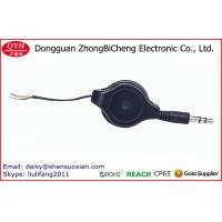 Wholesale Double Sided Pull Retractable Cut Open 3.5MM Speaker Cable from china suppliers
