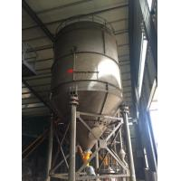 Wholesale Professional drawing SNC100 white Steel Cement Silo for concrete batching plant price from china suppliers