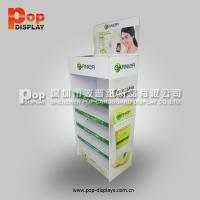 Wholesale Foldable Chewing Gum Corrugated Pop Display With Oil Varnish For Advertising from china suppliers