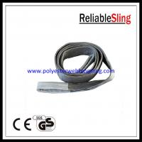 Wholesale 4T Webbing tapes polyester lifting belt , Single / double tubular industrial sling from china suppliers