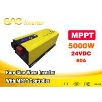 Wholesale ONE MPPT Solar Inverter 24v / 48v To 220v 230v 5000w Pure Sine Wave Home Inverter from china suppliers