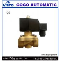 Wholesale Brass Solenoid Valves , AC220V 12V DC Normally Close 2 Way Solenoid Valves from china suppliers