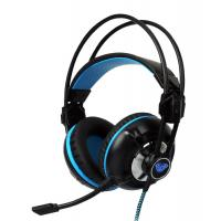 Aula G93V Wired Gaming Headset Easy Volume Control LOL DOTA2  With LED Light