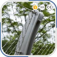 Buy cheap Outdoor AISI316 Material 2.0mm  Flexible X-tend Security Cable Wire Mesh Fence from wholesalers