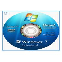 Quality Windows 7 Professional Full Retail Version 32 & 64 Bit With Genuine Key for sale