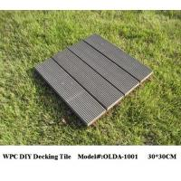 Wholesale WPC DIY Decking Tiles 30cm*30cm (OLDA-1001) from china suppliers