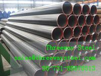 Wholesale Larger Diameter Welded LSAW Pipe Painted and galvanized from china suppliers