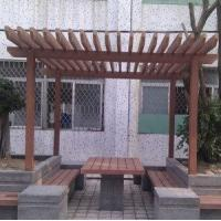 Wholesale WPC Pergola, Luxury Design (200X200MM) from china suppliers
