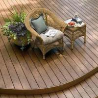 Wholesale Wood Plastic Composite Decking, Made of 30% HDPE, Measures 146 x 26mm, Barefoot-friendly from china suppliers