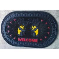 Wholesale Anti Slippery Rubber Door Mat Home Entrance Welcome Door Mats from china suppliers
