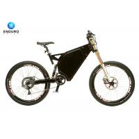 Wholesale High Speed Enduro Ebike , Full Suspension Ebike WIth 1500w from china suppliers
