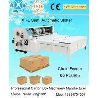 Wholesale Industrial Die Cutter Printing Slotting Machine Lead Edge Of Paper Feeding from china suppliers