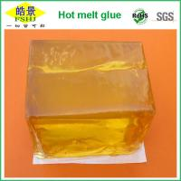 Wholesale Yellow Block Hot Melt Pressure Sensitive Adhesive For Sanitary Towel Making from china suppliers